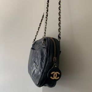 Vintage Chanel Lambskin Shoulder Bag